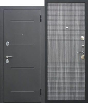 Входная-дверь-75-см-Гарда-МУАР-Венге-тобакко