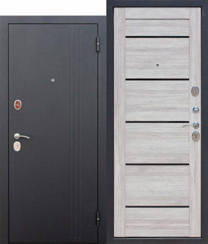 Входная-дверь-75-см-НЬЮ-ЙОРК-Царга-Дуб-санремо-светлый