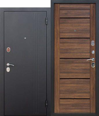 Входная-дверь-75-см-НЬЮ-ЙОРК-Царга-Дуб-санремо-темный