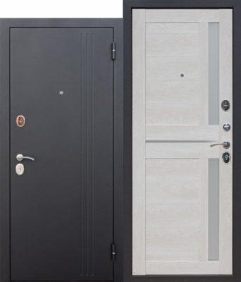 Входная-дверь-75-см-НЬЮ-ЙОРК-Царга-Каштан-перламутр