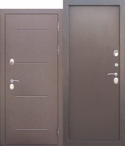 Входная-дверь-c-ТЕРМОРАЗРЫВОМ-11-см-ISOTERMA-Медный-антик-Металл
