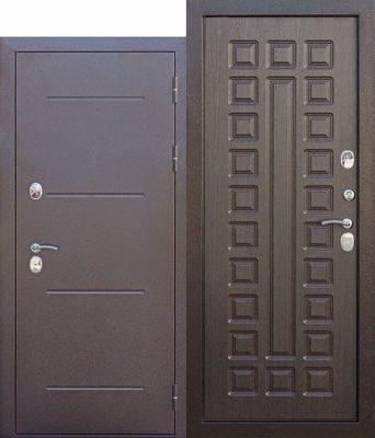 Входная-дверь-c-ТЕРМОРАЗРЫВОМ-11-см-Isoterma-медный-антик-Венге