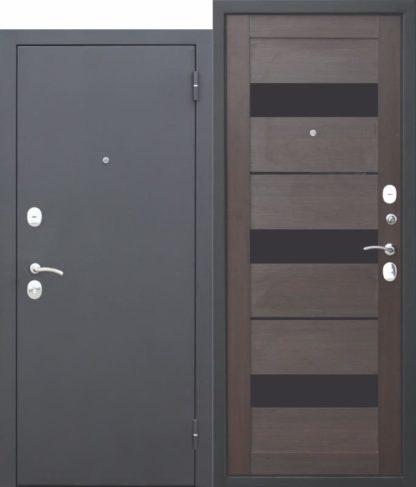 Входная-металлическая-дверь-Гарда-МУАР-ЦАРГА-Темный-кипарис