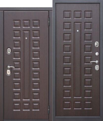 Входная-металлическая-дверь-10-см-МОНАРХ-МДФ-МДФ-Венге-с-МДФ-панелями