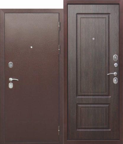 Входная-металлическая-дверь-10-см-ТОЛСТЯК-РФ-Медный-антик-Венге