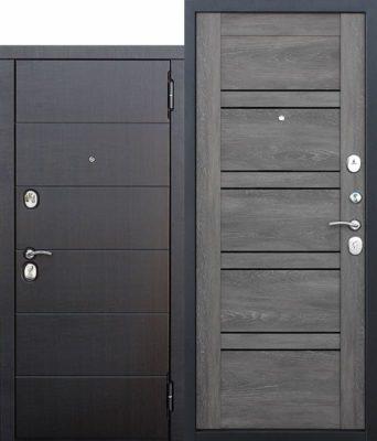 Входная-металлическая-дверь-105-см-Чикаго-Царга-дуб-шале-графит-с-МДФ-панелями