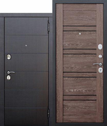 Входная-металлическая-дверь-105-см-Чикаго-Царга-дуб-шале-корица-с-МДФ-панелями