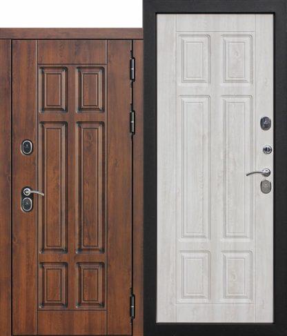 Входная-морозостойкая-дверь-c-ТЕРМОРАЗРЫВОМ-13-см-Isoterma-МДФ-Сосна-белая