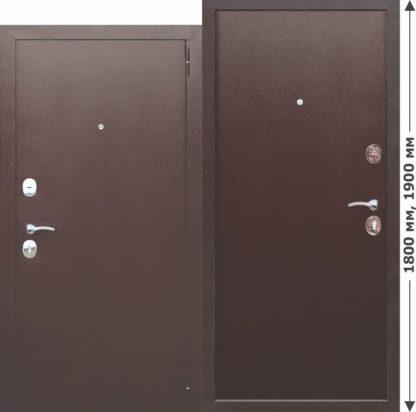 Нестандартная-входная-металлическая-дверь-GARDA-mini-Металл