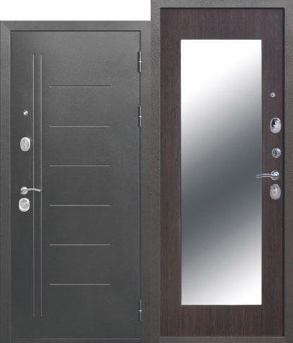 10-см-Троя-Серебро-МАКСИ-зеркало-Венге