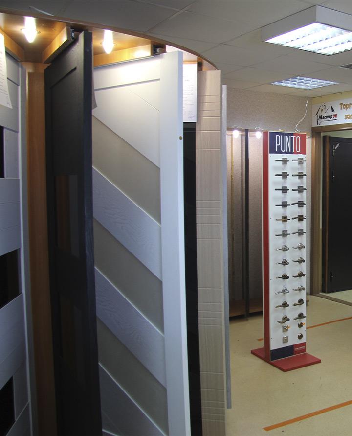 Купить двери и фурнитуру магазин Мастерок в Саранске