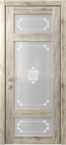 Межкомнатная дверь Кантри 10 стекло Грация