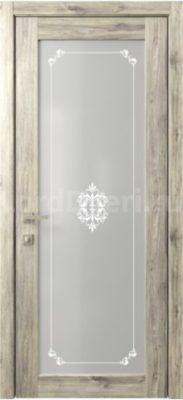Межкомнатная дверь Кантри 12 стекло Грация