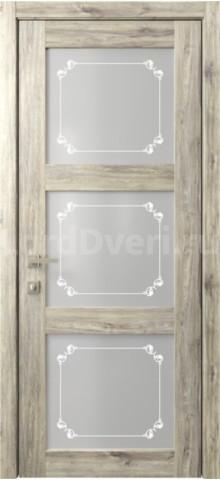 Межкомнатная дверь Кантри 6 стекло Грация