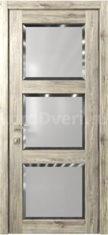 Межкомнатная дверь Кантри 6 стекло Фацет