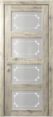 Межкомнатная дверь Кантри 8 стекло Грация