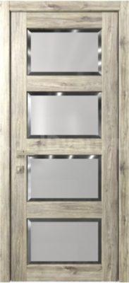 Межкомнатная дверь Кантри 8 стекло Фацет