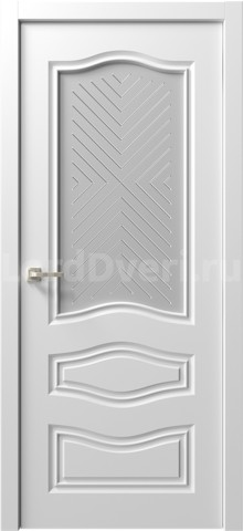 Межкомнатная дверь Ренессанс 9 стекло Ручелли