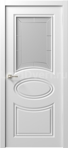 Межкомнатная дверь Ренессанс 8 стекло Филиппо
