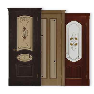 Межкомнатные двери покрытие Шпон