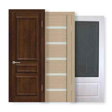 Межкомнатные двери покрытие ЭкоШпон