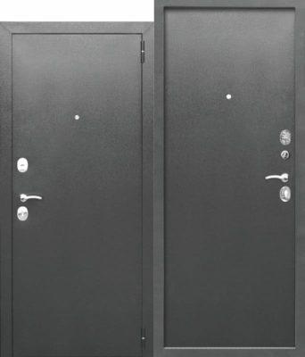 Входная-дверь-ГАРДА-Букле-серый-Металл