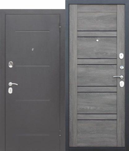 Входная-дверь-ГАРДА-Серебро-ЦаргаЛестница-Шале-графит