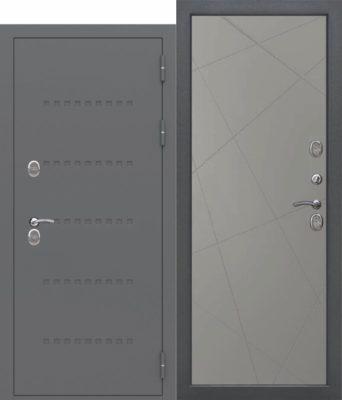 Входная-дверь-c-ТЕРМОРАЗРЫВОМ-11-см-ISOTERMA-Эмаль-Линии-ral2502