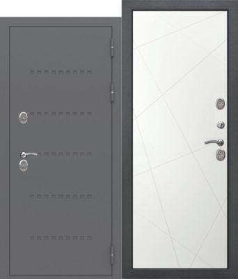 Входная-дверь-c-ТЕРМОРАЗРЫВОМ-11-см-ISOTERMA-Эмаль-Линии-ral9003