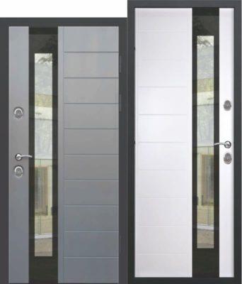 Входная-дверь-c-ТЕРМОРАЗРЫВОМ-125-см-ISOTERMA-Стеклопакет-Эмаль