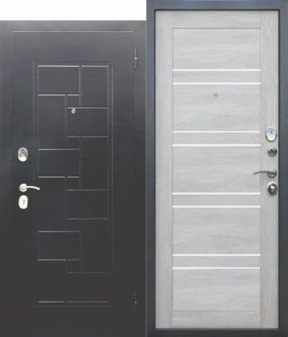 Входная-металлическая-дверь-ГАРДА-Серебро-Царга-Шале-белый (1)