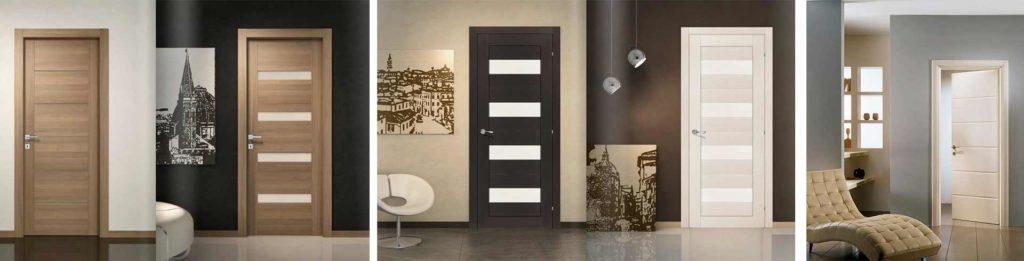 Внешний вид межкомнатных дверей