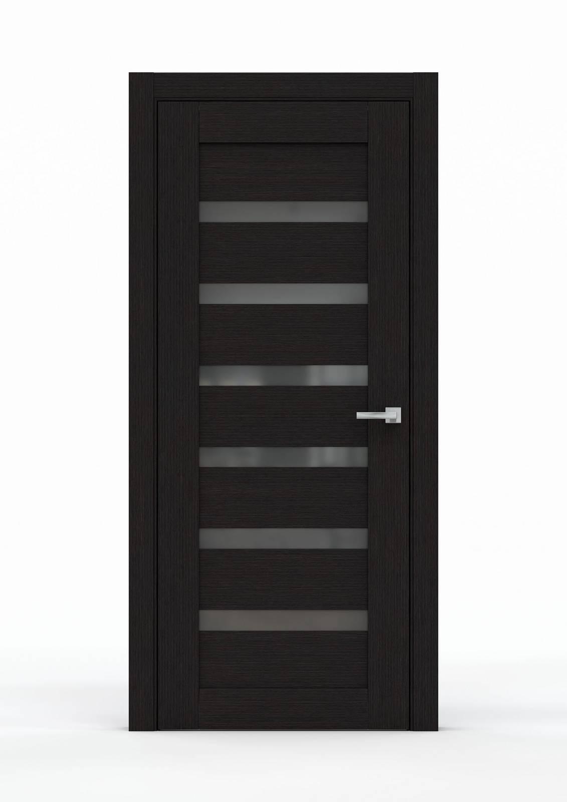 Межкомнатная дверь из экошпона - 0643. Цвет - Венге