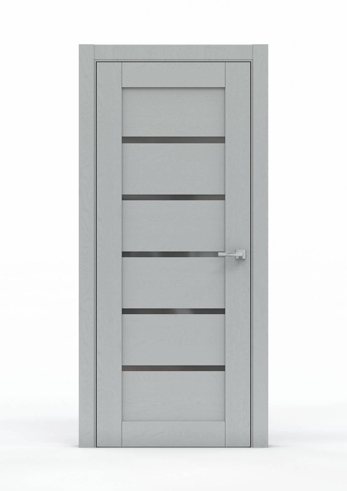 Межкомнатная дверь из экошпона - 0683. Цвет - Жемчуг