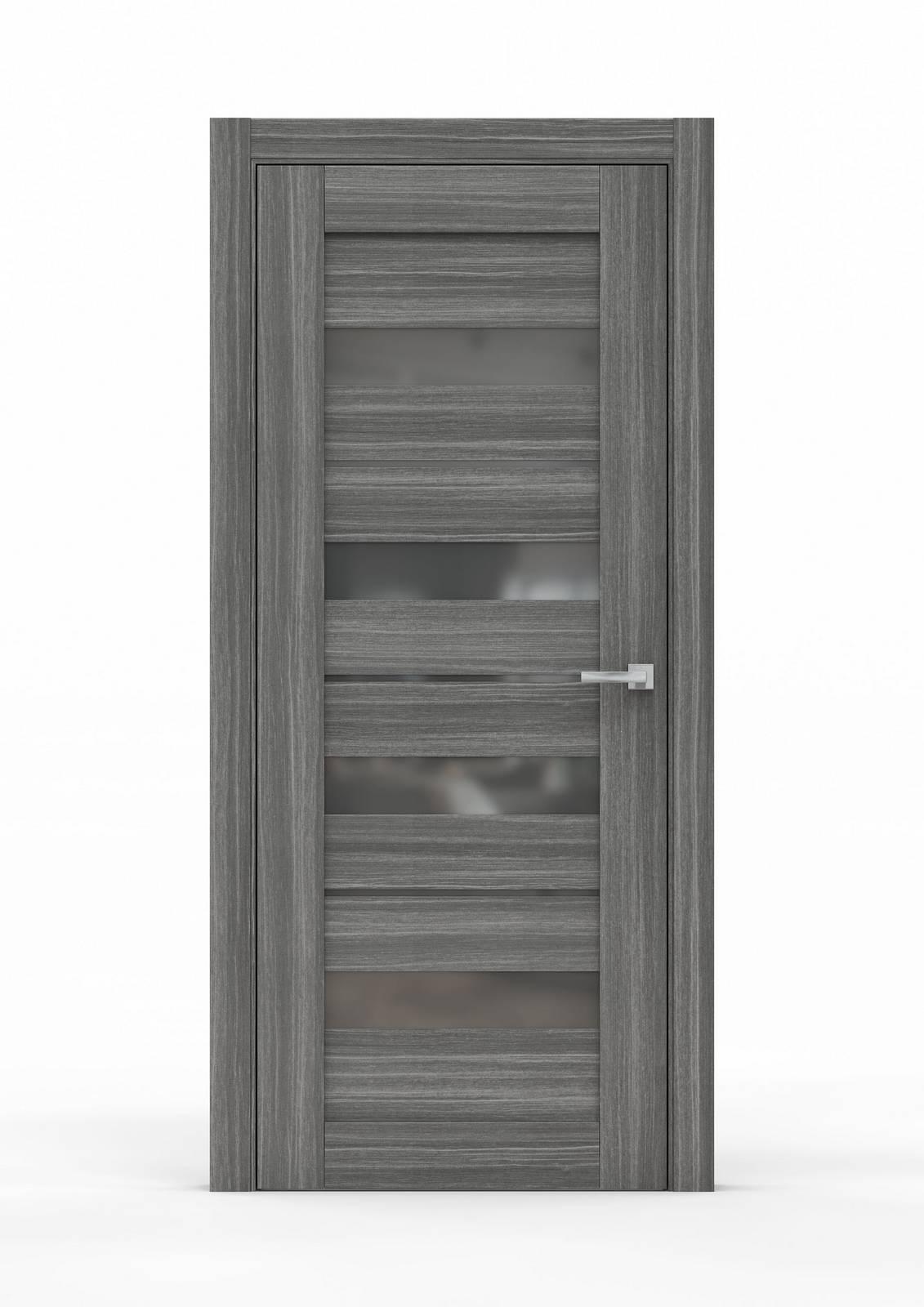 Межкомнатная дверь из экошпона - 0687. Цвет - Сандал Серый