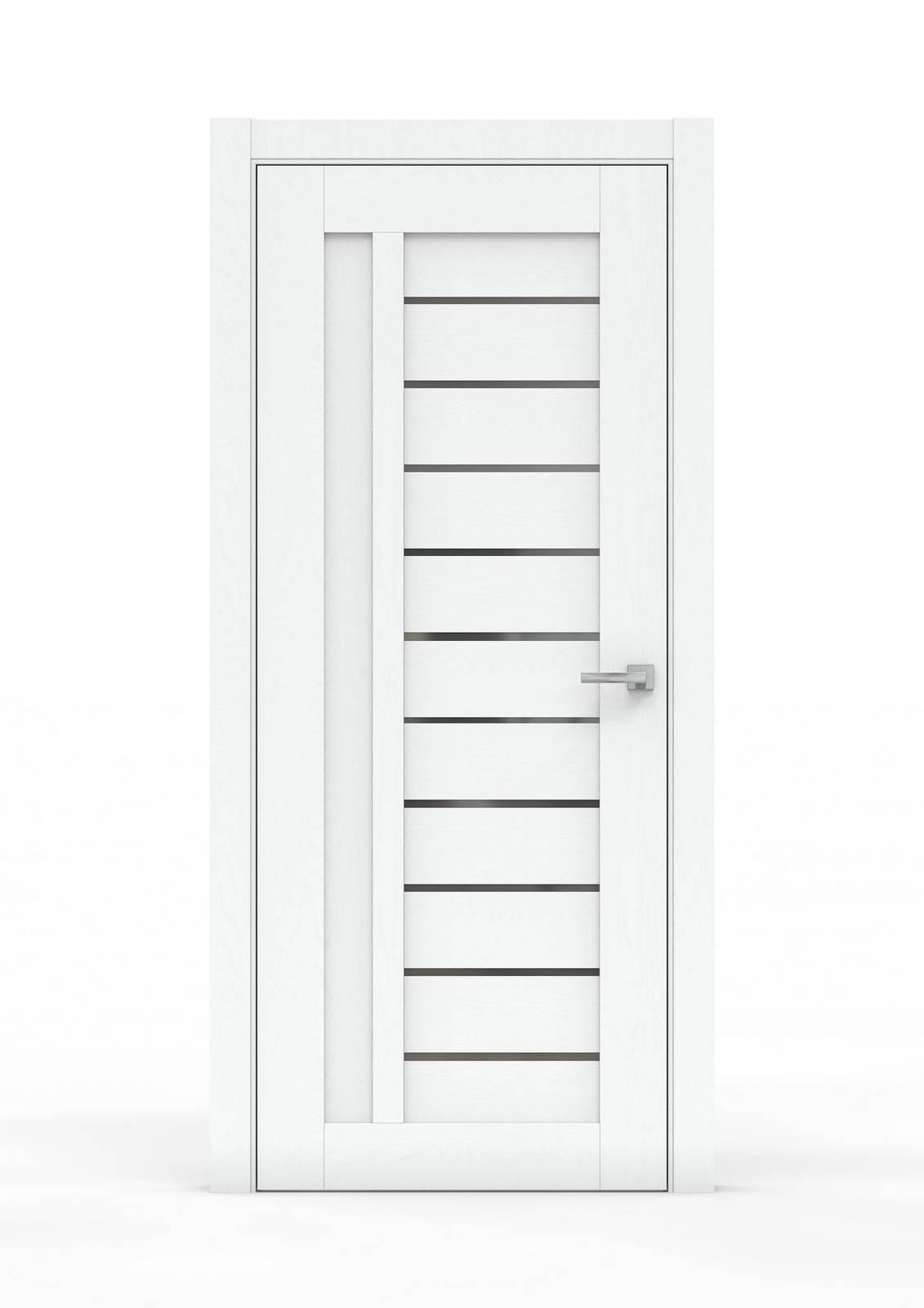 Межкомнатная дверь - 0691А. Цвет - Ясень Белый