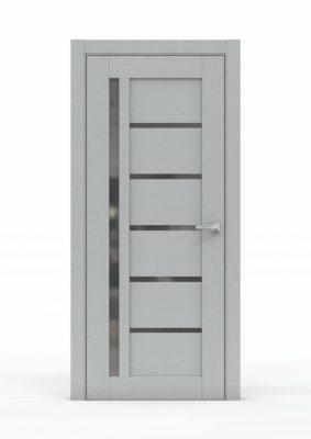 Межкомнатная дверь - 0693. Цвет - Жемчуг