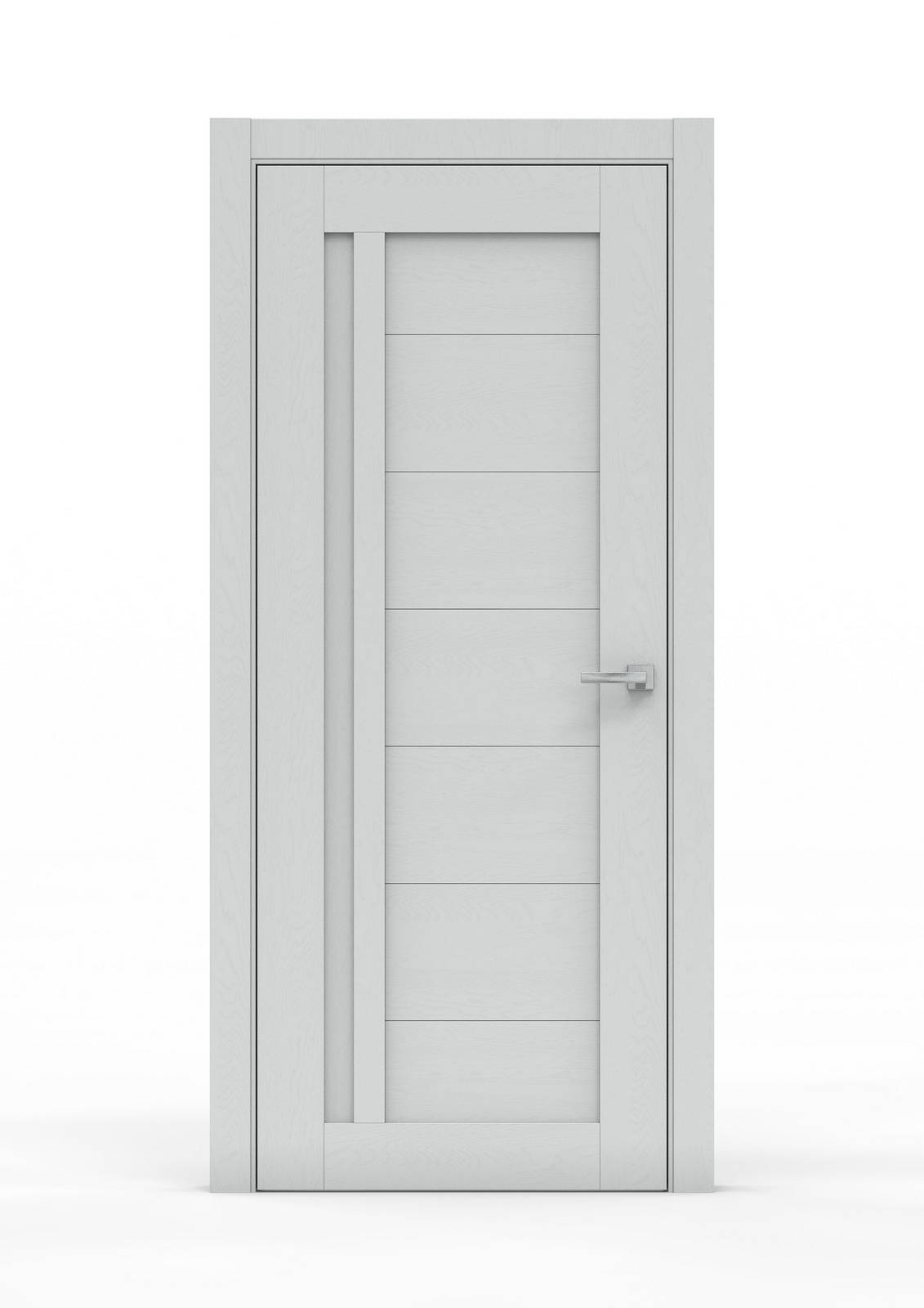Межкомнатная дверь - 0693. Цвет - Ясень Серый